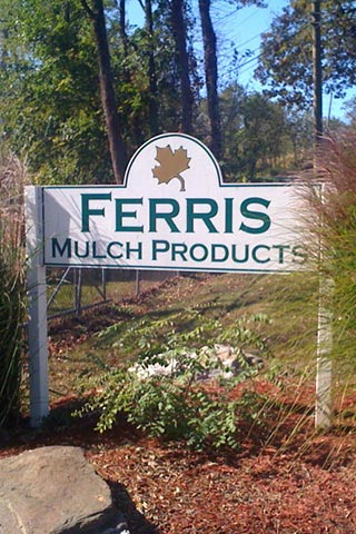Ferris Mulch Sign